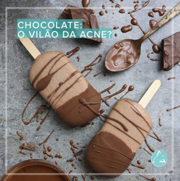 Chocolate: O Vilão da Acne?