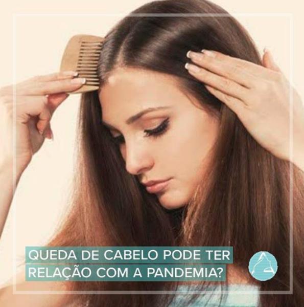 Queda de cabelo pode ter relação com a Pandemia?